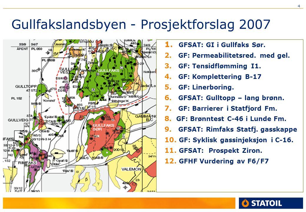 Gullfakslandsbyen - Prosjektforslag 2007
