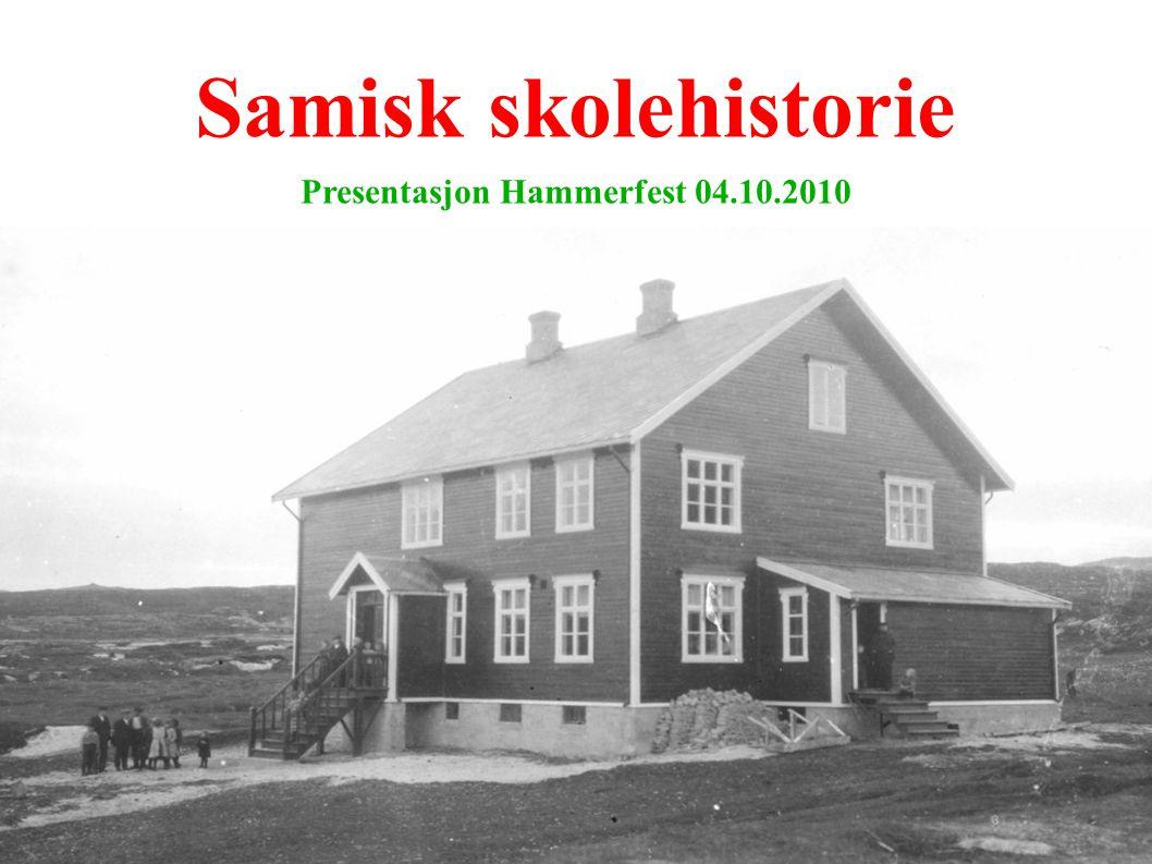 Presentasjon Hammerfest 04.10.2010