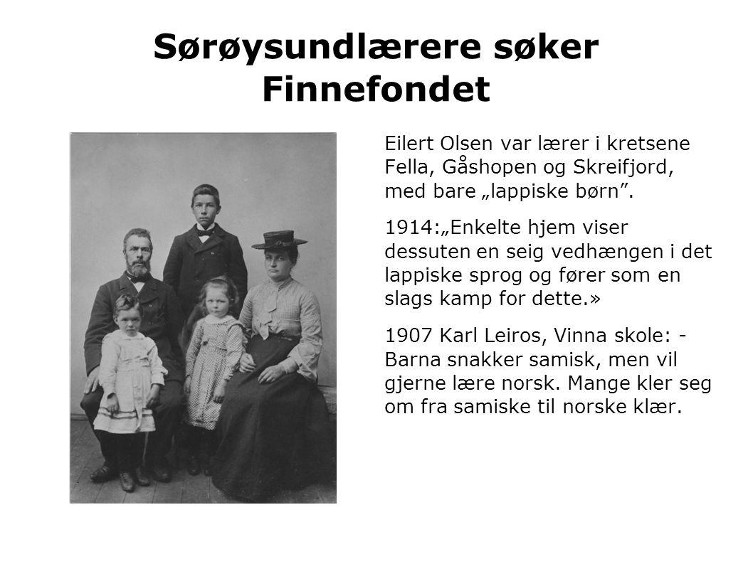 Sørøysundlærere søker Finnefondet
