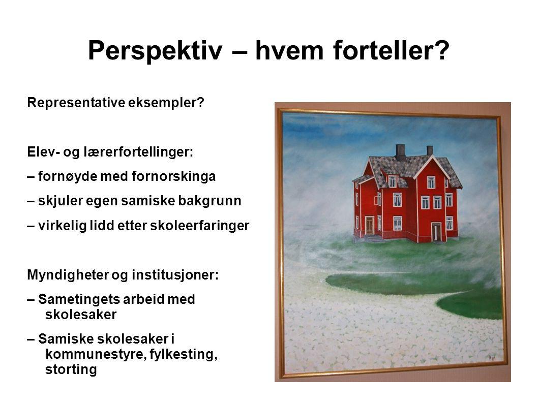 Perspektiv – hvem forteller