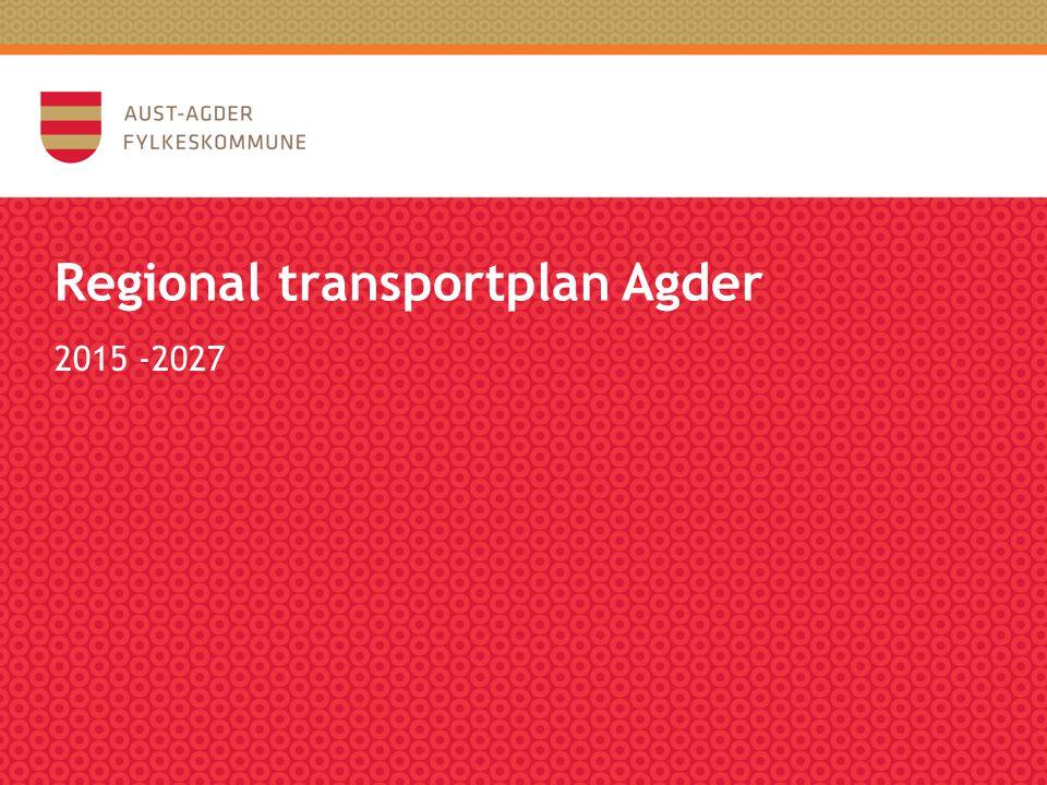Regional transportplan Agder