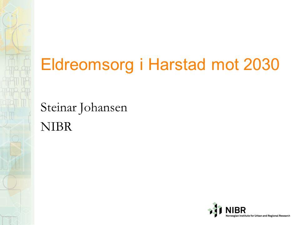 Eldreomsorg i Harstad mot 2030