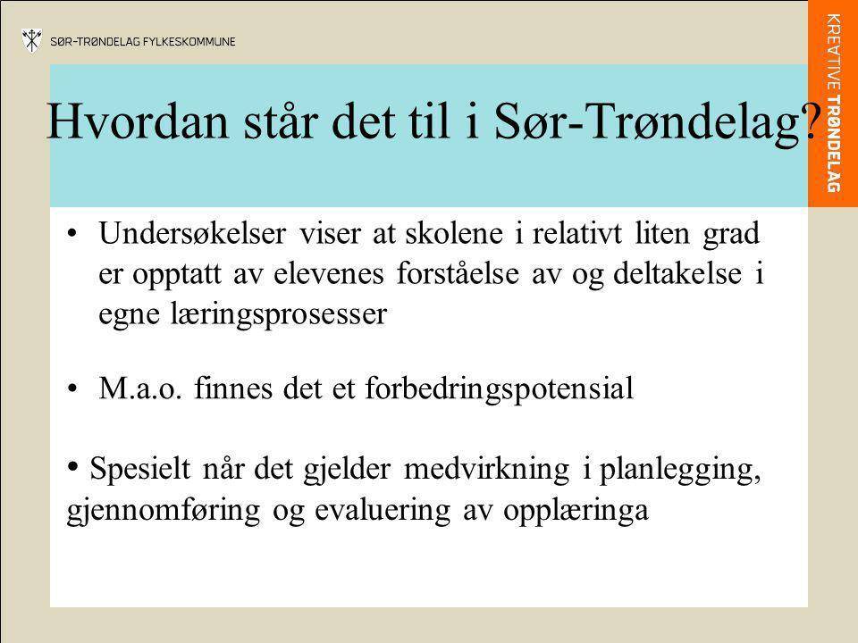 Hvordan står det til i Sør-Trøndelag