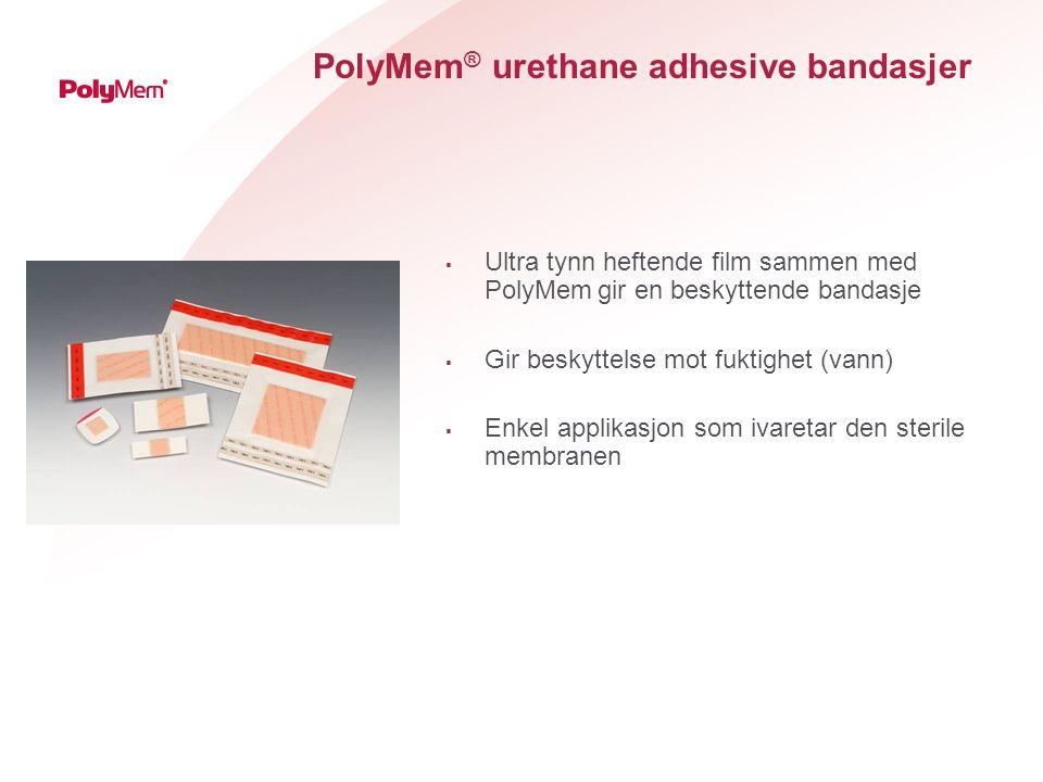 PolyMem® urethane adhesive bandasjer