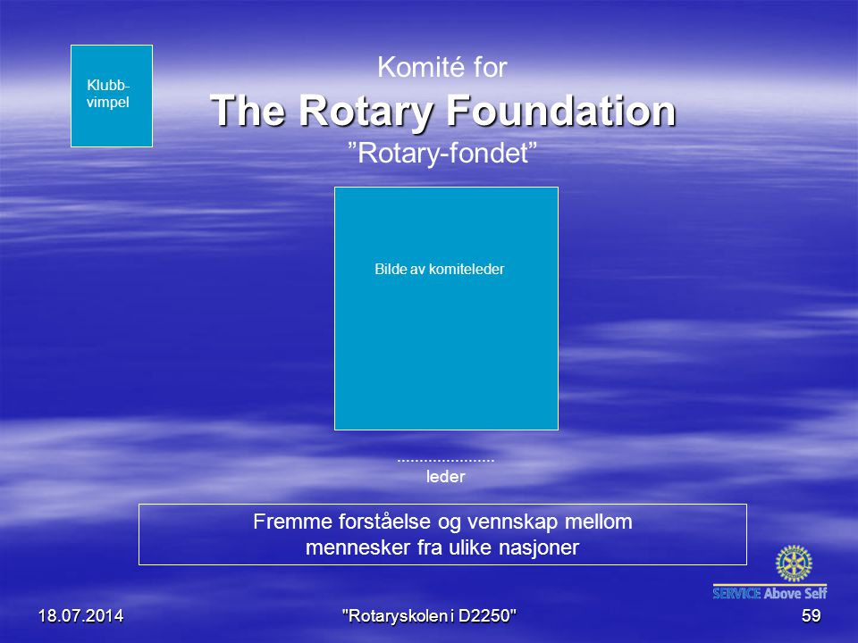 Komité for The Rotary Foundation Rotary-fondet