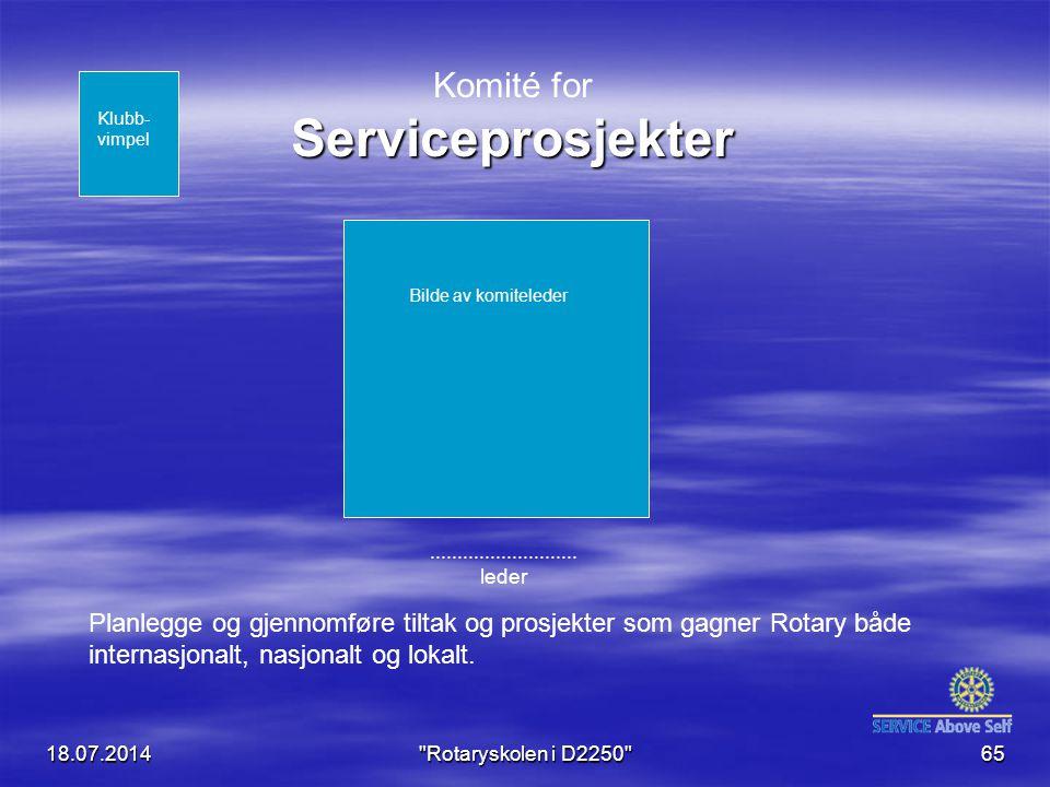Komité for Serviceprosjekter