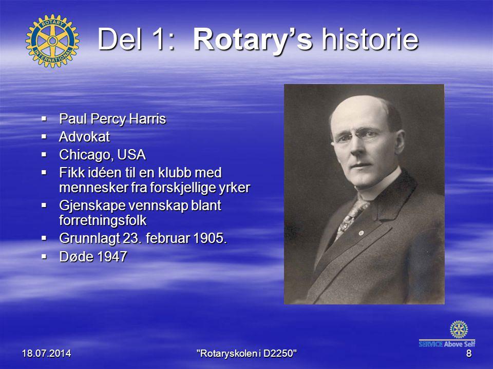 Del 1: Rotary's historie