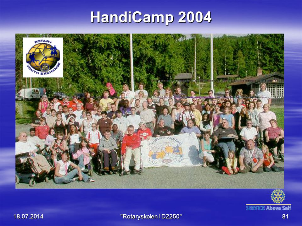 HandiCamp 2004 04.04.2017 Rotaryskolen i D2250