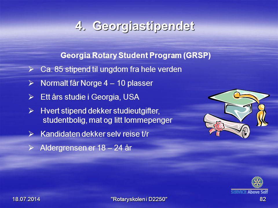 Georgia Rotary Student Program (GRSP)