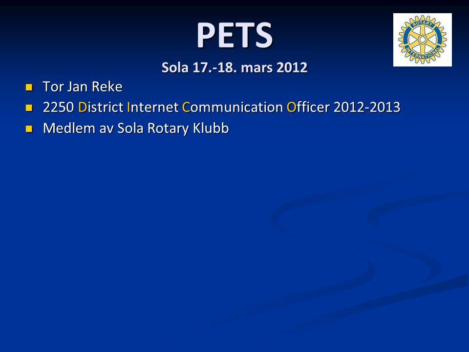 PETS Sola 17.-18. mars 2012 Tor Jan Reke