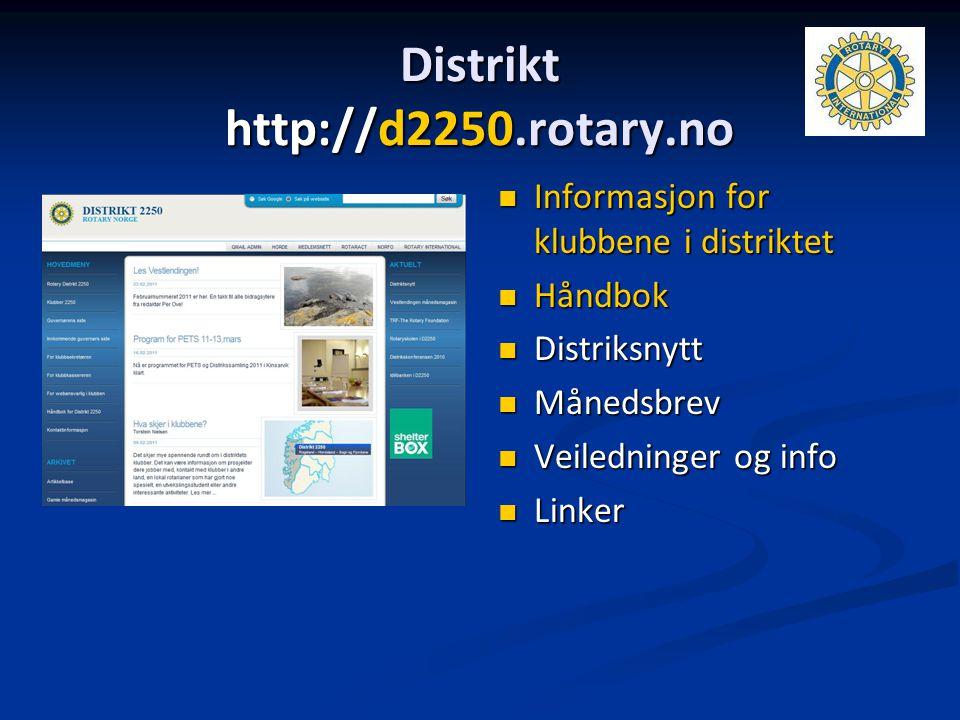 Distrikt http://d2250.rotary.no
