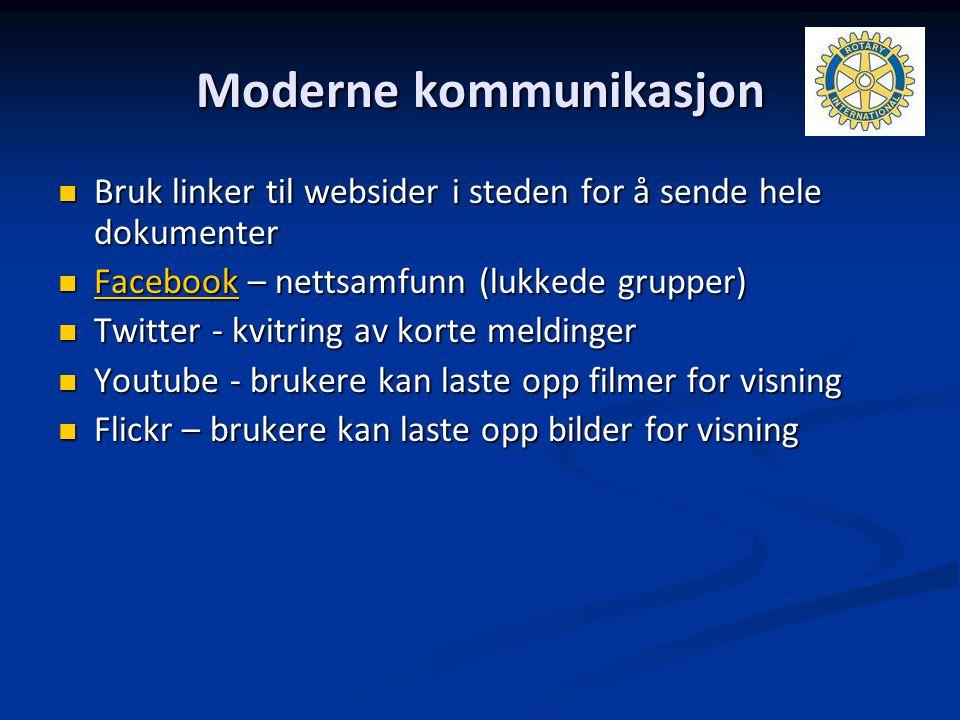 Moderne kommunikasjon