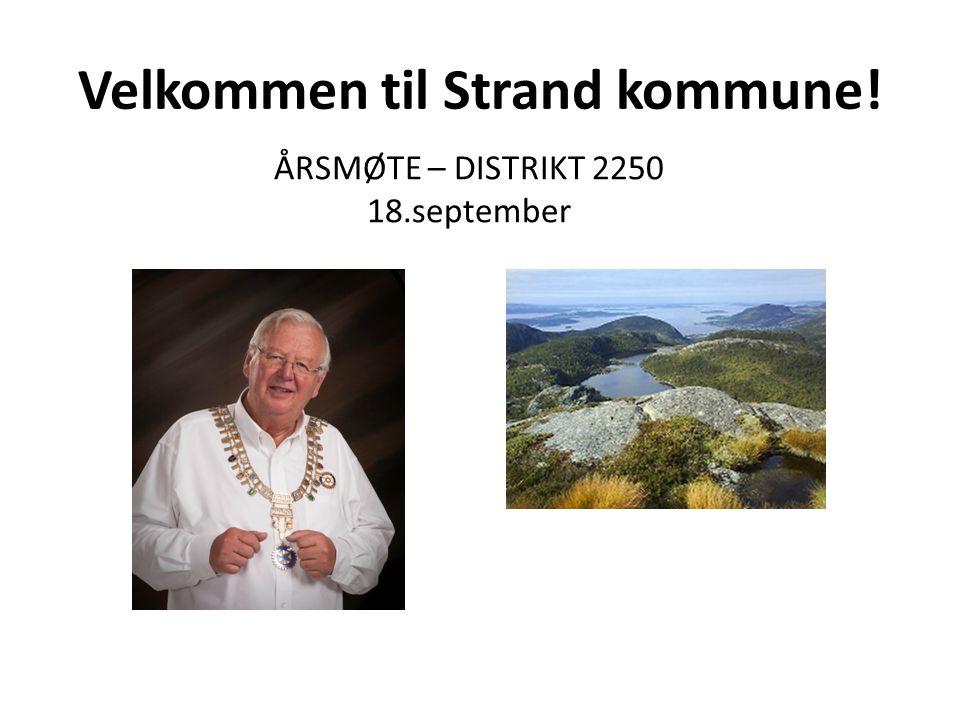 Velkommen til Strand kommune!