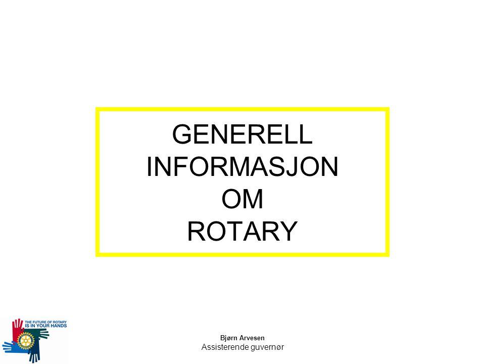 GENERELL INFORMASJON OM ROTARY