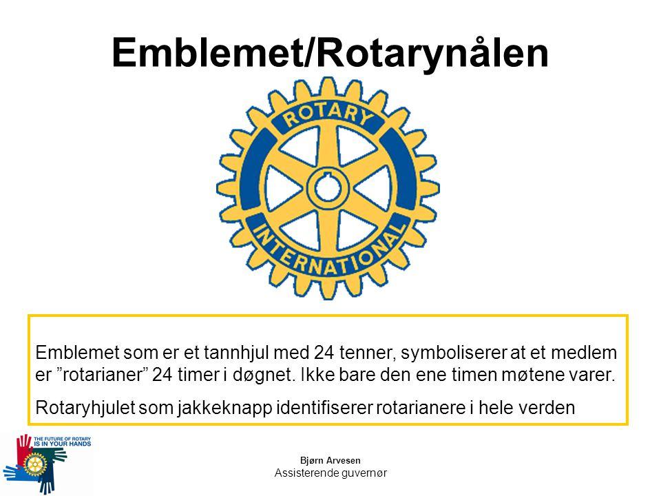 Emblemet/Rotarynålen