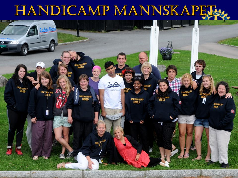 HandiCamp mannskapet