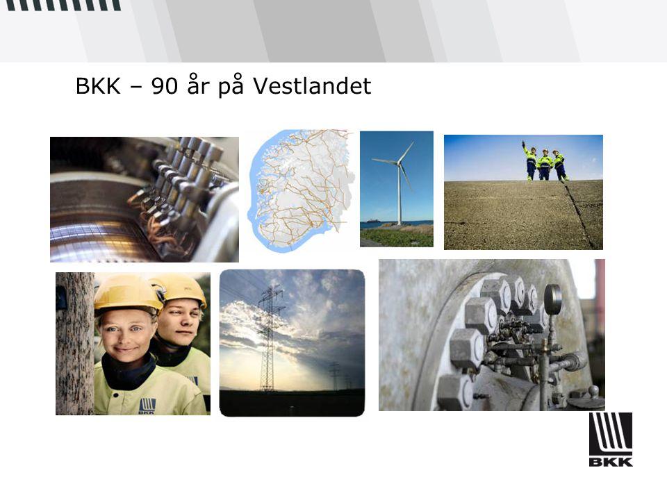 BKK – 90 år på Vestlandet