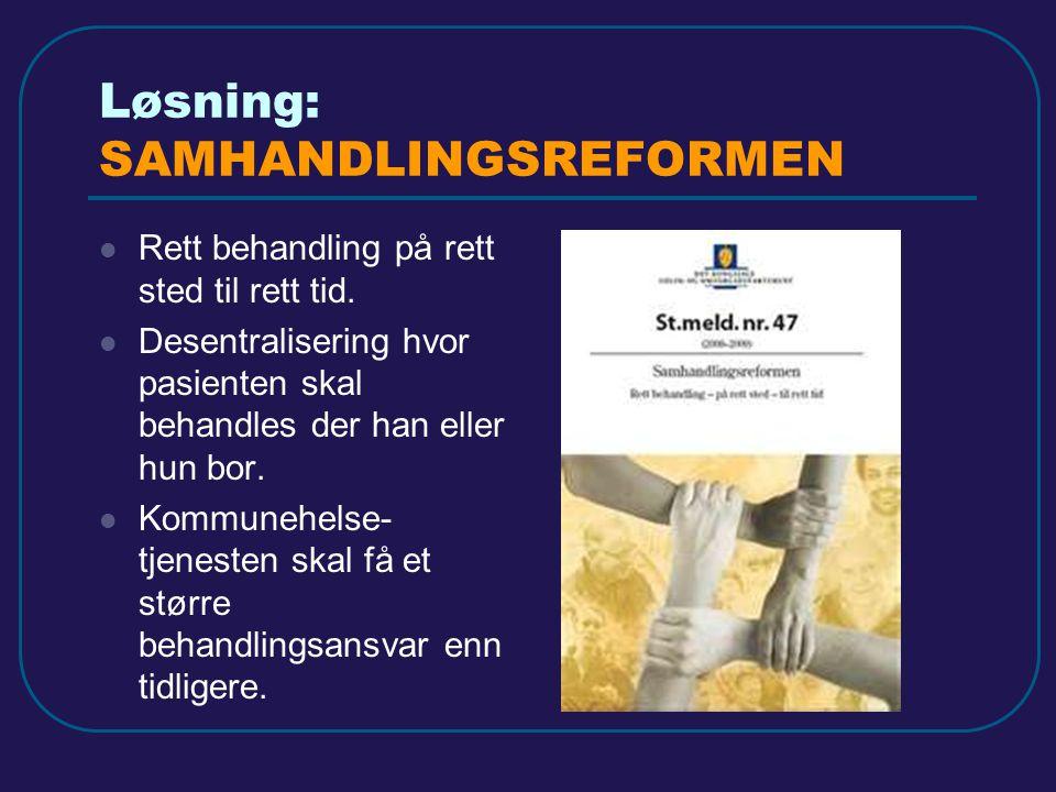 Løsning: SAMHANDLINGSREFORMEN