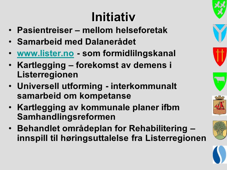 Initiativ Pasientreiser – mellom helseforetak