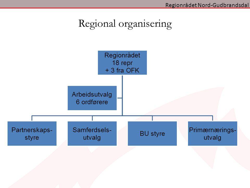 Regional organisering