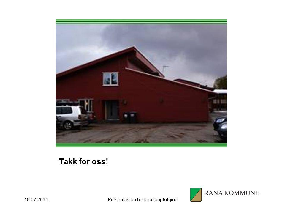 Presentasjon bolig og oppfølging