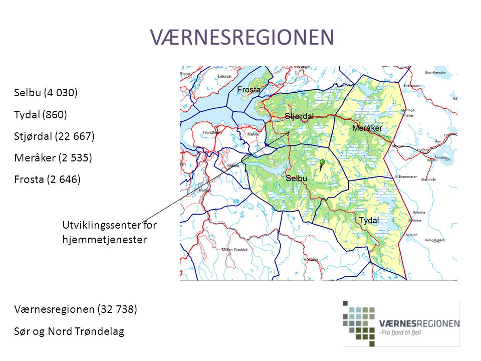 VÆRNESREGIONEN Selbu (4 030) Tydal (860) Stjørdal (22 667)