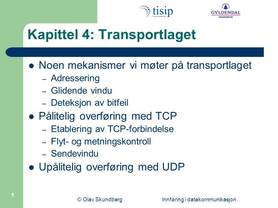Kapittel 4: Transportlaget