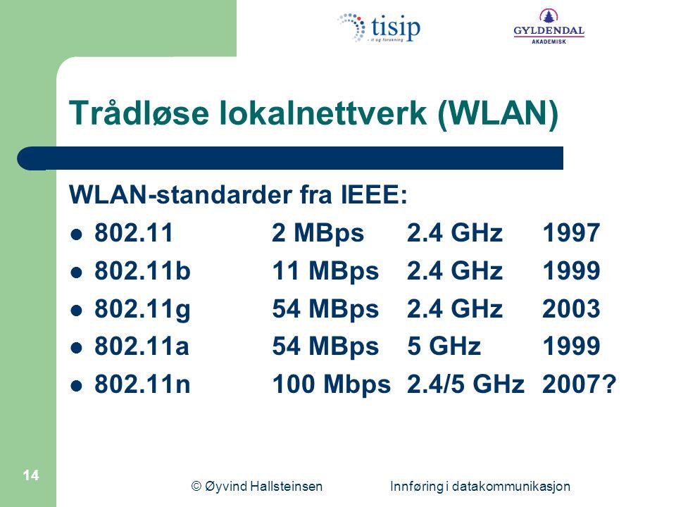 Trådløse lokalnettverk (WLAN)
