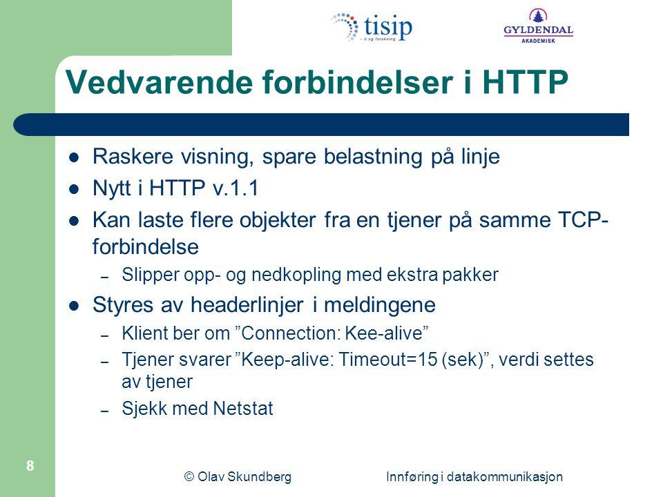 Vedvarende forbindelser i HTTP