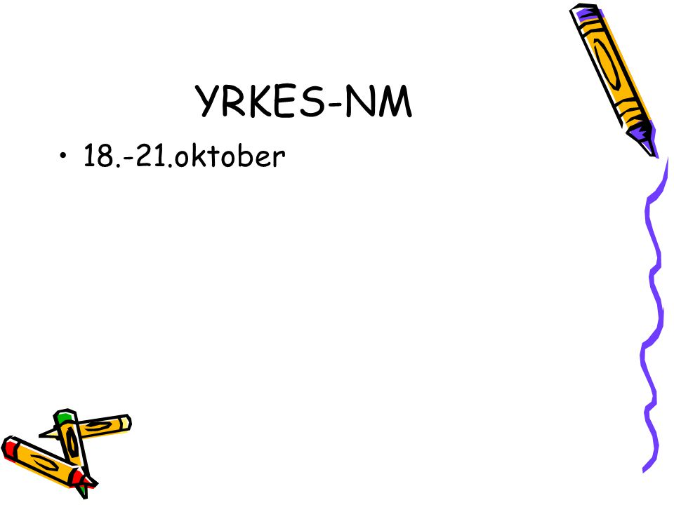 YRKES-NM 18.-21.oktober