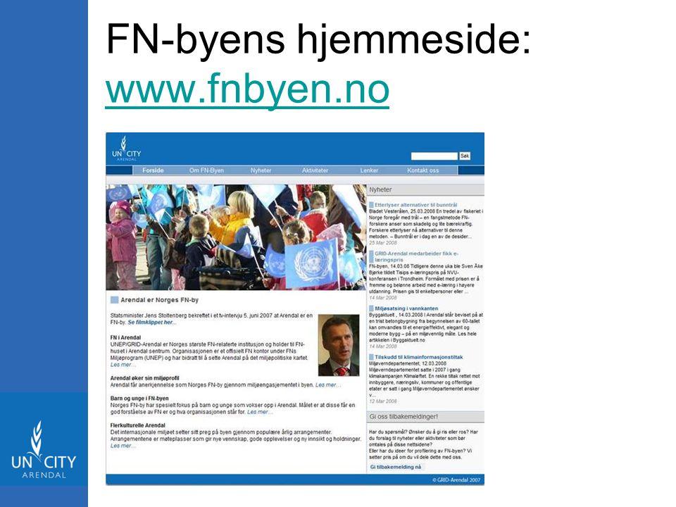 FN-byens hjemmeside: www.fnbyen.no