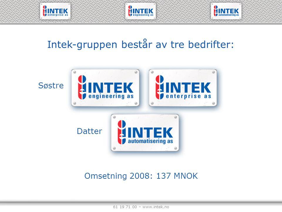 Intek-gruppen består av tre bedrifter: