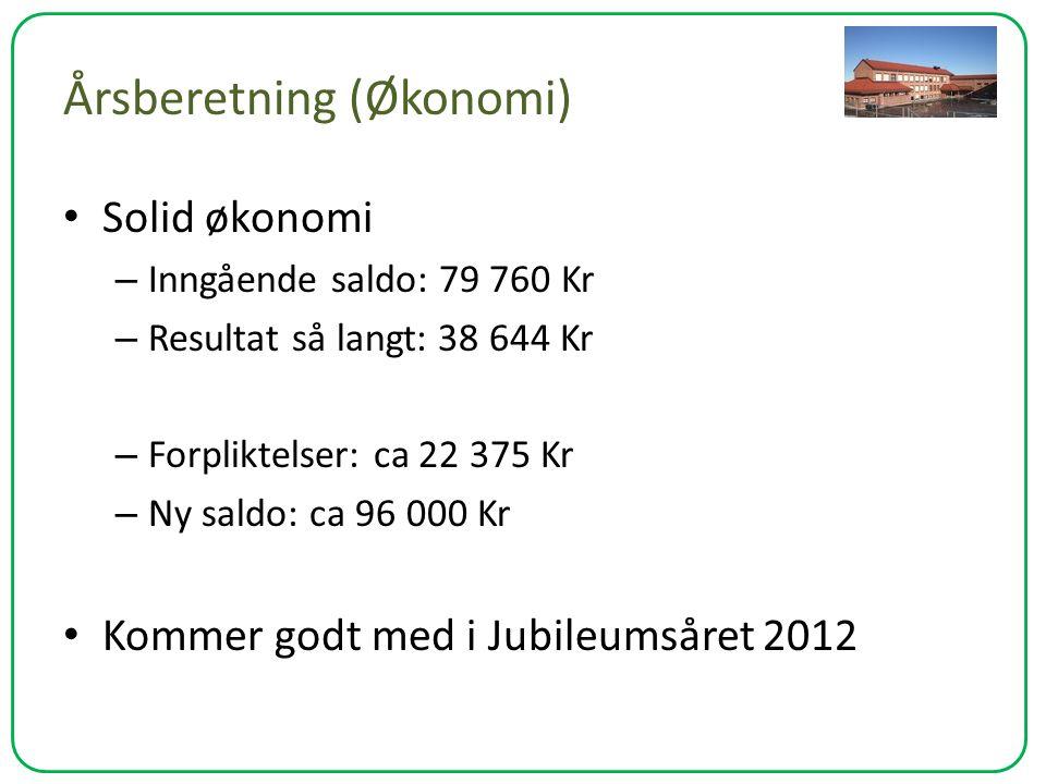 Årsberetning (Økonomi)