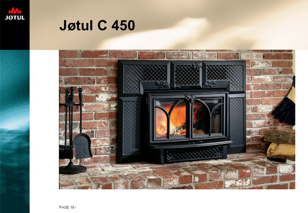 Jøtul C 450 PAGE 18 -