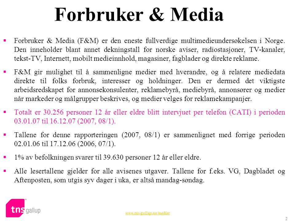 Forbruker & Media