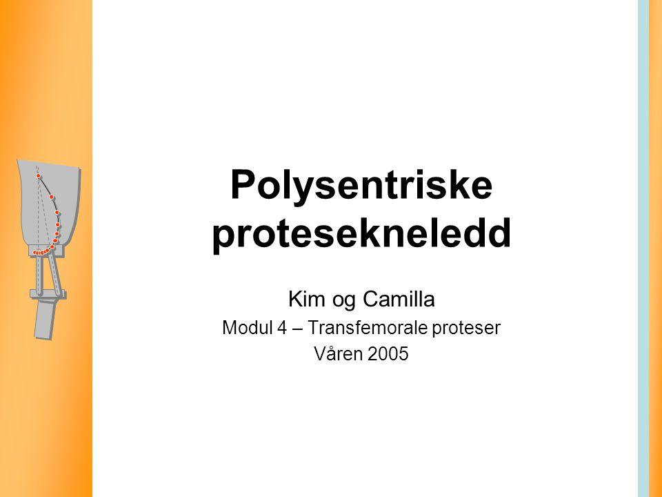 Polysentriske protesekneledd