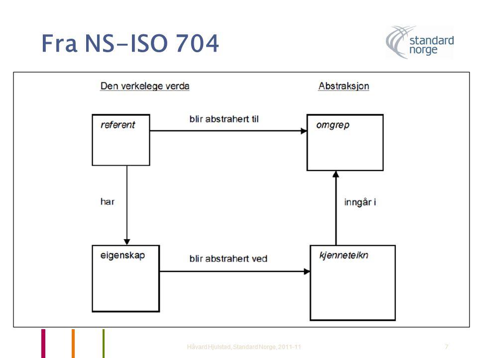Fra NS-ISO 704 Håvard Hjulstad, Standard Norge, 2011-11