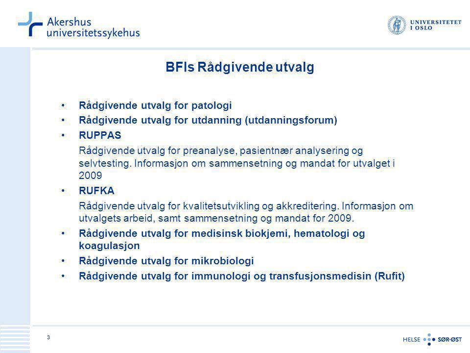 BFIs Rådgivende utvalg