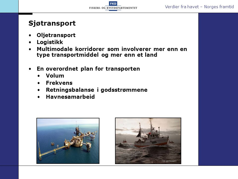 Sjøtransport Oljetransport Logistikk