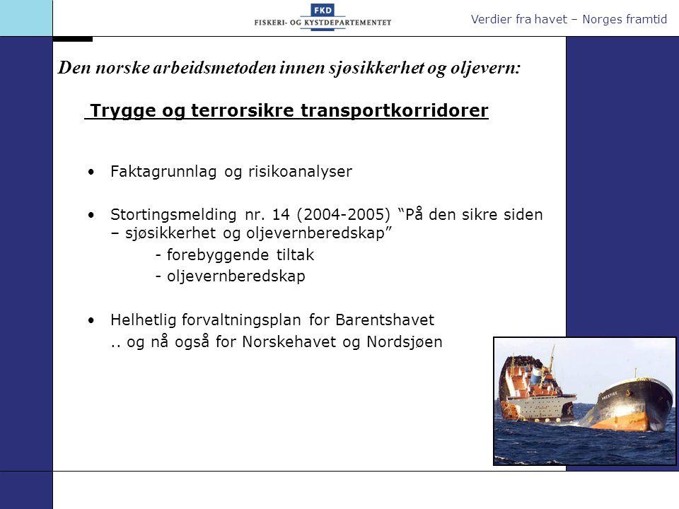 Trygge og terrorsikre transportkorridorer