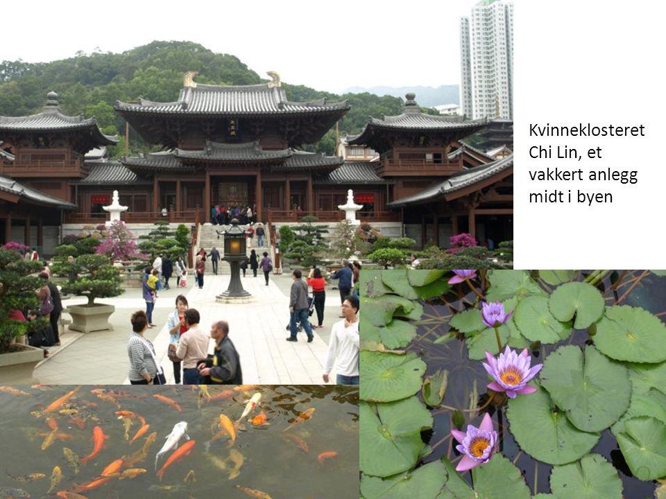 Kvinneklosteret Chi Lin, et vakkert anlegg midt i byen