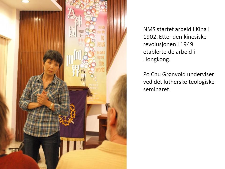 NMS startet arbeid i Kina i 1902