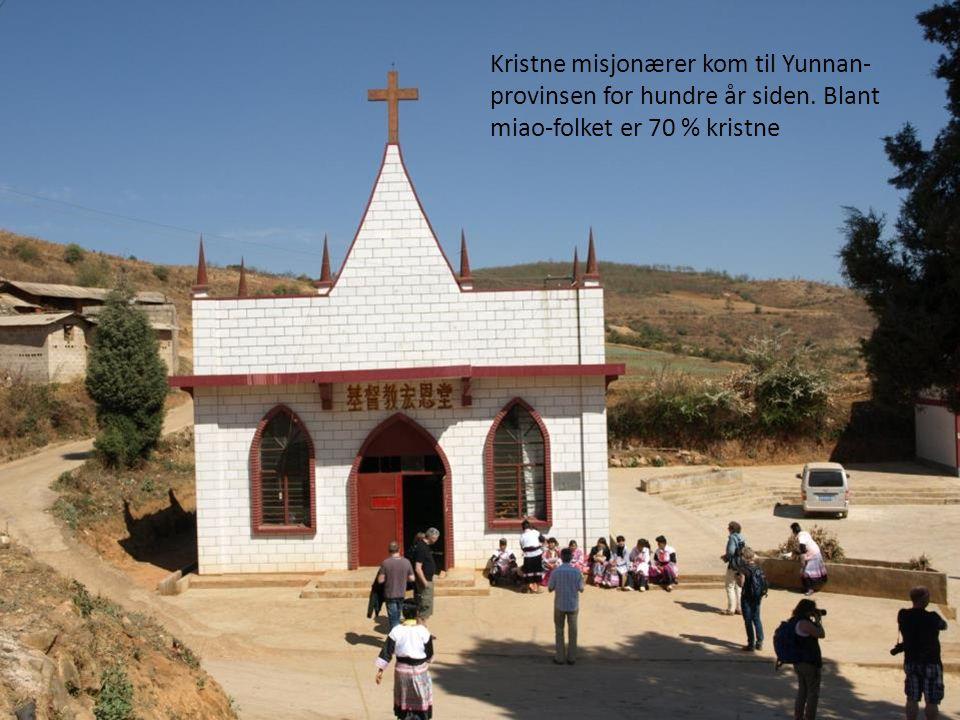 Kristne misjonærer kom til Yunnan-provinsen for hundre år siden