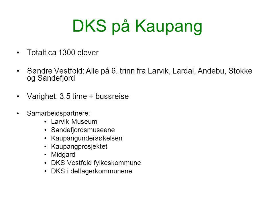 DKS på Kaupang Totalt ca 1300 elever