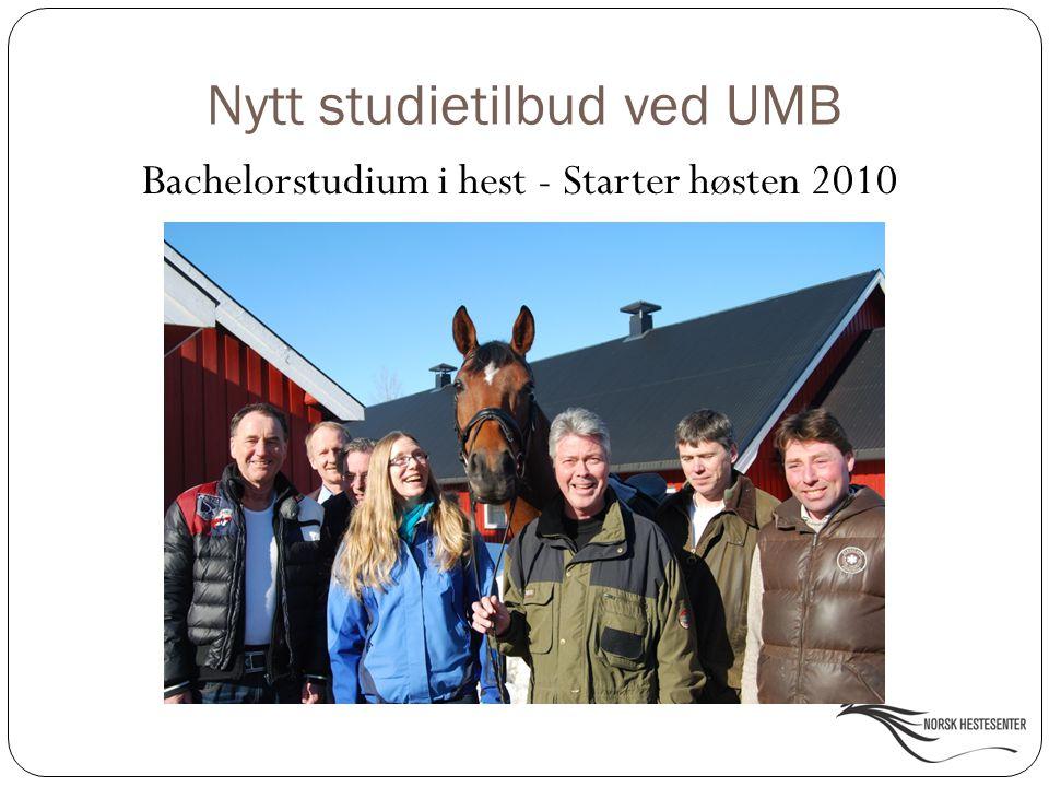 Nytt studietilbud ved UMB