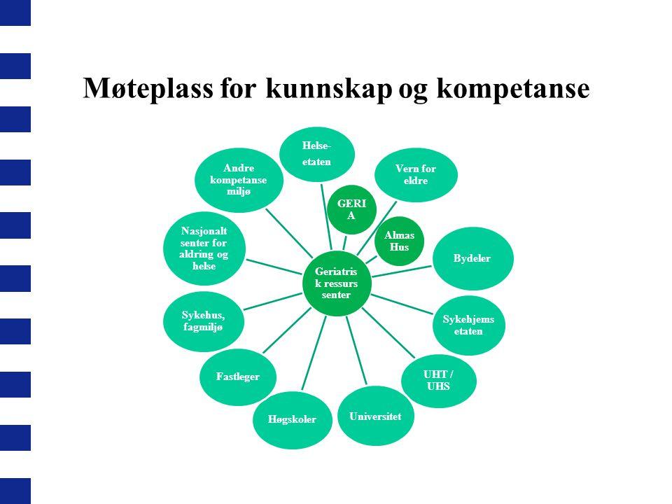 Møteplass for kunnskap og kompetanse