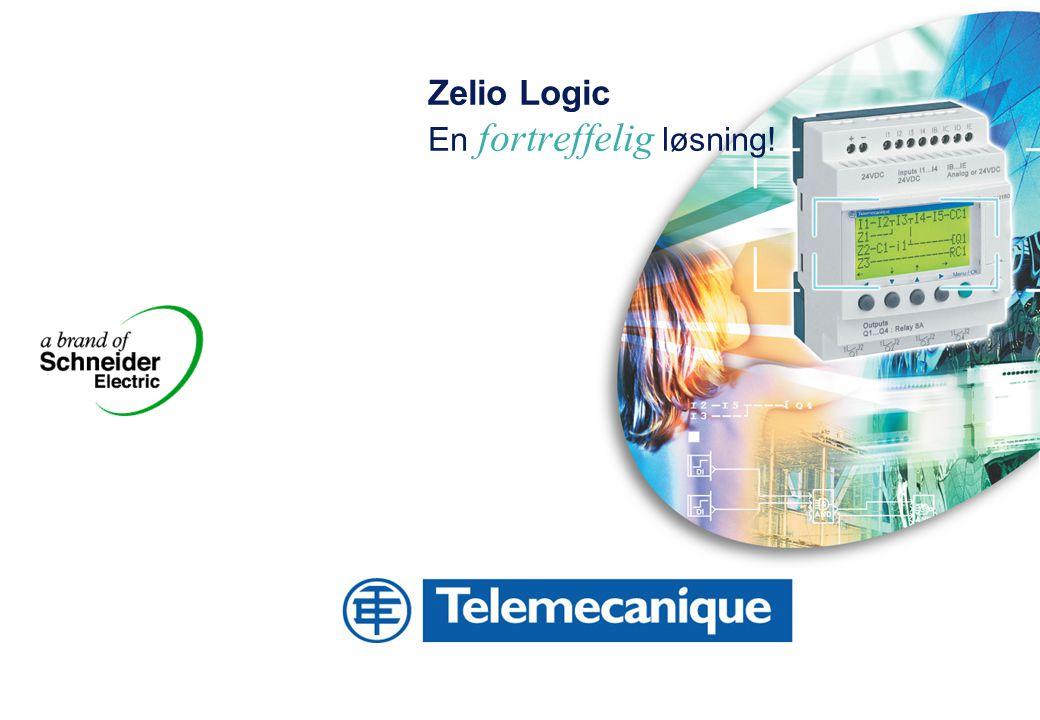 Zelio Logic En fortreffelig løsning!