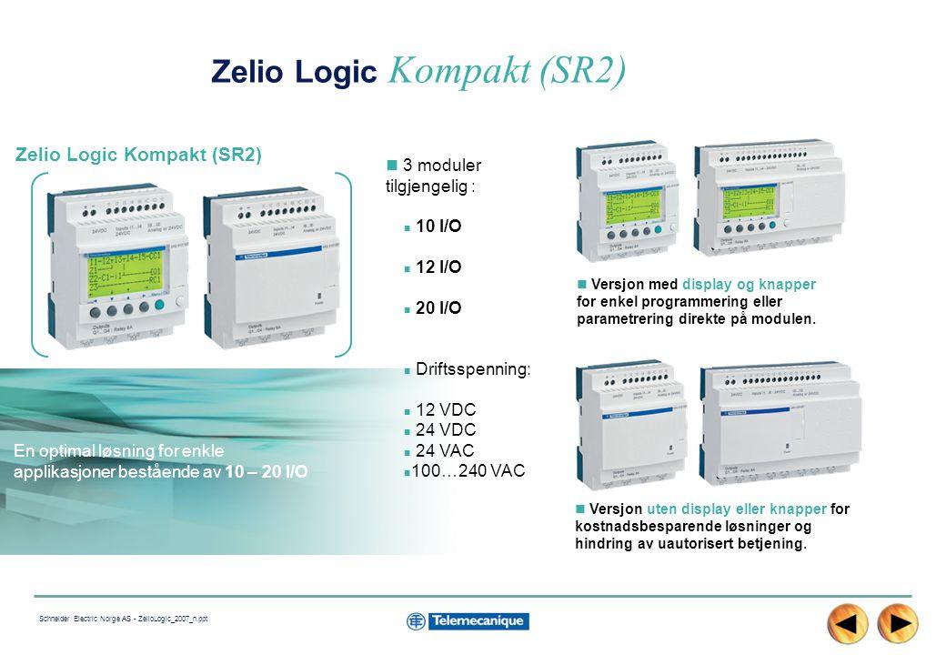 Zelio Logic Kompakt (SR2)