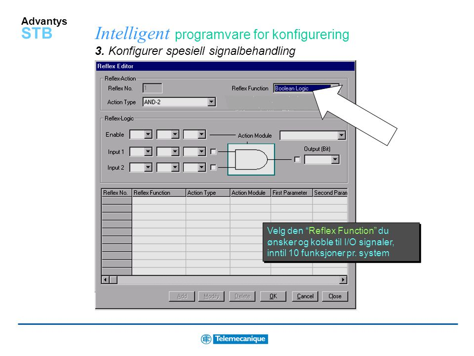 Intelligent programvare for konfigurering 3