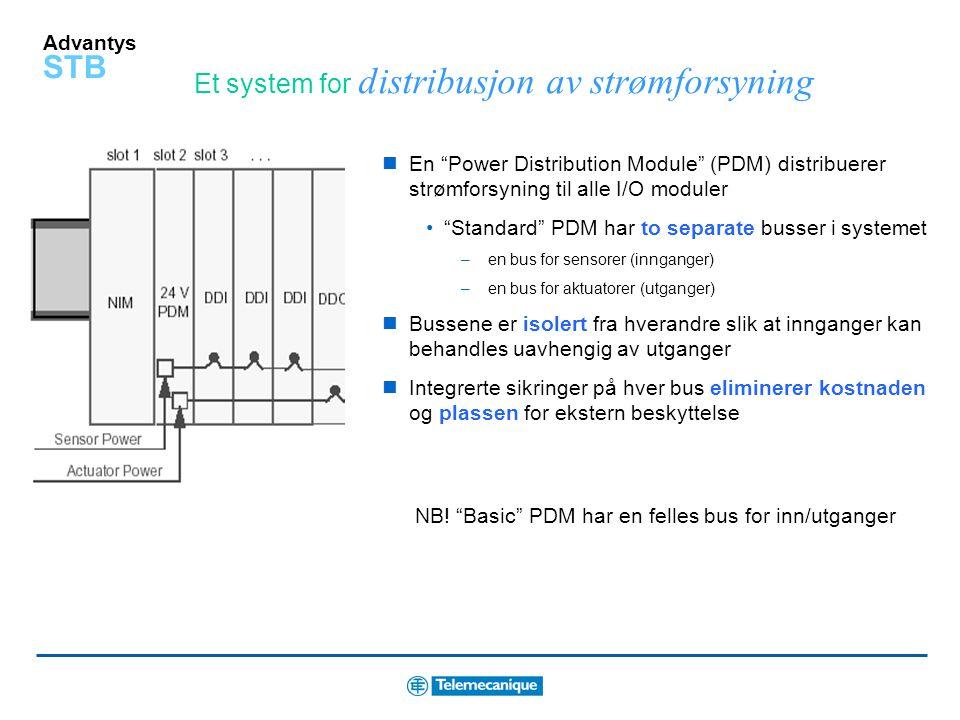 Et system for distribusjon av strømforsyning